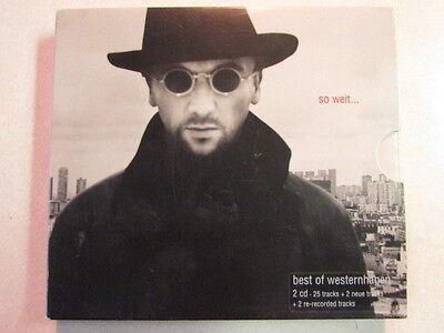 BEST OF MARIUS MULLER WESTERNHAGEN SO WEIT 2CD EUROPEAN IMPORT GERMAN JOHNNY W. (So Weit Best Of)