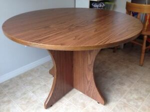 Solid Round Table - $45 OBO