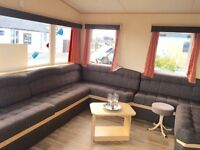 Static caravan, onsite sale , exceptional facilities, beach, fishing lake