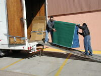 MOVERS WITH TRUCK OR MOVERS ONLY CALL US NOW 438-985-5071