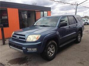 2004 Toyota 4Runner SR5 4X4*******6 CYLINDER*******FULLY LOADED London Ontario image 4
