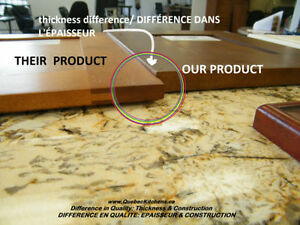 Wood Vanities On Sale With Granite Countertops @ QuebecKitchens West Island Greater Montréal image 2