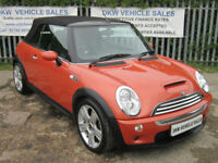 LOW MILEAGE MINI COOPER S HOT ORANGE 2005 (55) ONLY 38K S/HISTORY / GREAT SPEC!!