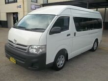 2011 Toyota Hiace TRH223R MY11 Upgrade Commuter White 4 Speed Automatic Bus Cardiff Lake Macquarie Area Preview