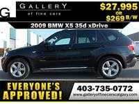 2009 BMW X5 xDrive35d $269  bi-weekly APPLY TODAY DRIVE TODAY