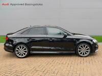 2017 Audi A3 1.6 Tdi 116 Black Edition 4Dr Saloon Diesel Manual