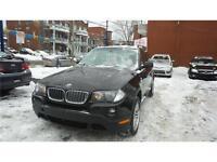 2007 BMW X3 3,0i 12 mois garantie Inclu / 15000km