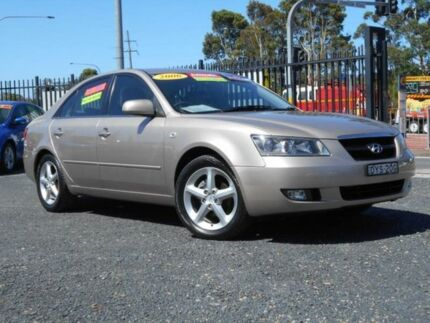 2006 Hyundai Sonata NF Elite Beige 4 Speed Sequential Auto Sedan Tuggerah Wyong Area Preview