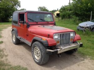 1986 jeep yj sale or trade