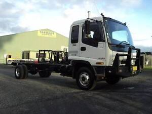 ISUZU FRR550 CAB CHASSIS WITH LOW 336400KMS Armidale City Preview