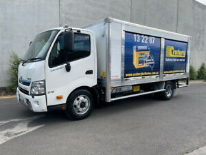 2014 Hino 916 hybrid Pantech  -Side roller doors -Auto trans  -3 seater  -Low kms  -Tinted wind Bell Park Geelong City Preview