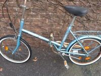 Folding bike or shopping bike