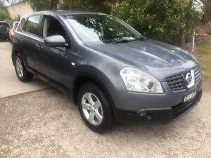 2009 Nissan Dualis J10 TI (4x4) Grey 6 Speed CVT Auto Sequential Wagon Macquarie Hills Lake Macquarie Area Preview