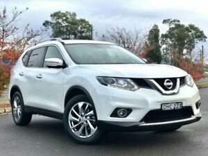 2016 Nissan X-Trail T32 Ti X-tronic 4WD White 7 Speed Constant Variable Wagon Blacktown Blacktown Area Preview