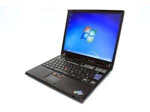 """IBM LAPTOP 1.60GHz,2GB,60GB,DVD-RW,WIFI,14.1"""",DELIVERY"""