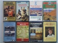 WM 8x WORLD MUSIC PRERECORDED CASSETTE TAPES. WALES. THERE'RE DOZENS MORE WM CASSETTES IN OTHER ADS