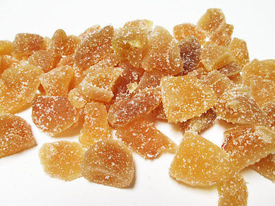 Natural Crystallized Ginger Chunks-Unsulfured, 5 lb bag Extra 5% buy $100+