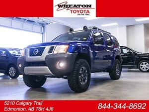 2015 Nissan Xterra PRO-4X, Limited, Tint, Leather Bolsters, Heat