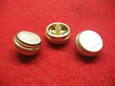 w//Felts! New Brass Sousaphone//Tuba//Sousa Finger Buttons Olds /& King Set of 3
