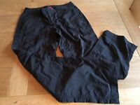 North Face ladies black trousers size 10