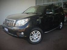 2009 Toyota Landcruiser Prado GRJ150R VX Black 5 Speed Sports Automatic Wagon Cannington Canning Area Preview