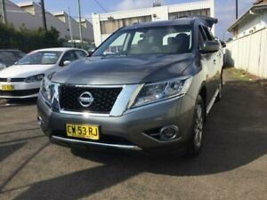 2016 Nissan Pathfinder R52 MY15 Upgrade ST (4x4) Charcoal Continuous Variable Wagon Minchinbury Blacktown Area Preview