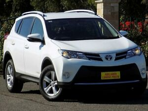 2014 Toyota RAV4 ALA49R MY14 GXL AWD White 6 Speed Sports Automatic Wagon Enfield Port Adelaide Area Preview