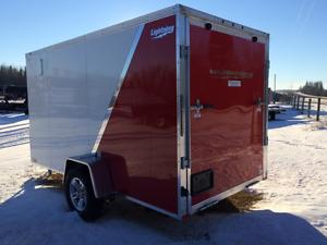 Super Savings - $500 - Aluminum 6 x 12 cargo trailer Edmonton Edmonton Area image 2