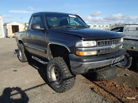 parting out 2000 lifted chev 1500