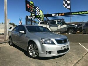 2010 Holden Caprice WM MY10 Silver 6 Speed Auto Active Sequential Sedan Islington Newcastle Area Preview