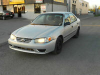 2001 Toyota Corolla CE,Certified & E-Tested with 27 Mnts Waranty