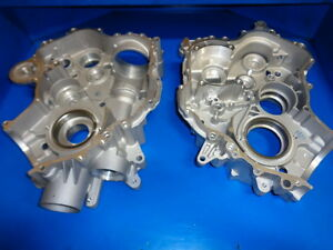 YAMAHA 660 GRIZZLY RHINO CRANKCASE SET NEW LEFT AND RIGHT CASES