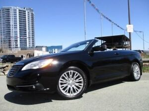 2012 CHRYSLER 200 Touring ONLY 32500 KMS!! ONE-TOUCH CONVERTIBLE
