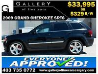 2009 Grand Cherokee SRT8 AWD $329 bi-weekly APPLY NOW DRIVE NOW