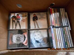 Country compact discs