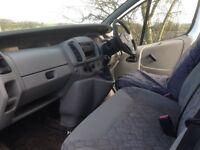 White 2003 Vauxhall Vivaro van for sale. Excellent runner