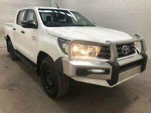 2017 Toyota Hilux GUN136R SR DOUBLE CAB 4X2 HI-RIDER Glacier White Sports Automatic Dual Cab Utility Bohle Townsville City Preview