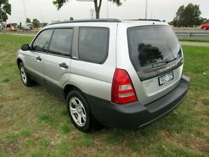 2003 Subaru Forester MY04 X Silver 4 Speed Automatic Wagon Hoppers Crossing Wyndham Area Preview