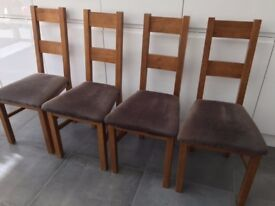 Oak Furniture Land Dining Chairs for Sale