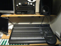 Mackie D8B mixing desk with 5.1 ready to go, daw controller