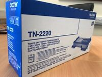 Toner cartridge Brother TN 2220 and Drum unit- Boxed- new- Genuine product