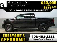 2014 RAM SPORT LIFTED *EVERYONE APPROVED* $0 DOWN $279/BW