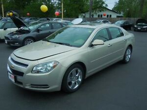 2012 CHEVROLET MALIBU LT PLATIUM EDITION- SUNROOF, LEATHER HEATE