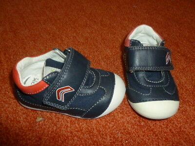 süße Schuhe Geox Gr. 19 Lauflernschuh Halbschuh Mädchen Jungen wie neu blau rot