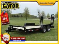 Remorque plate-forme Gator 18 GT-XT ' 10 000 lbs