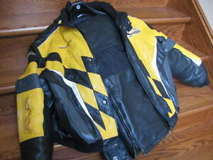 ski doo leather suit large SKIDOO CABOOSE & BAGS