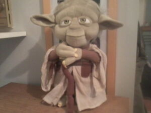 Yoda star wars plushie disney