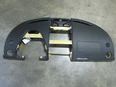 Lamborghini Gallardo LP560, Dash Panel, Black With Yellow Stitching, 401857041F