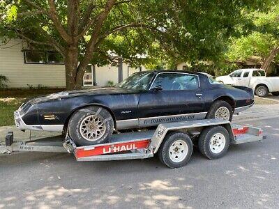 1981 Pontiac Firebird Formula 1981 Firebird Formula 5.0 Black/Black 60K Tilt A/C P/W C/C P/Trunk Clock Works