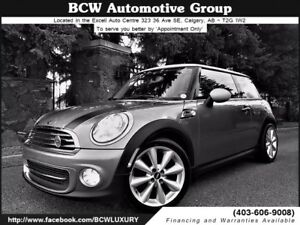 2013 MINI Cooper SOLD!...Low Km Certified $17,795.00